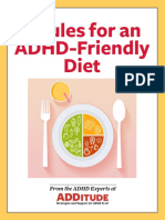 5 Rules for an ADHD Friendly Diet