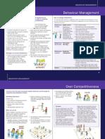 Behaviour Management Over Competativeness
