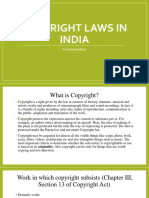 COPYRIGHT LAWS IN INDIA.pptx