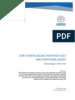 Dfs Brochure Csmcri Csir 18 Jan 2019