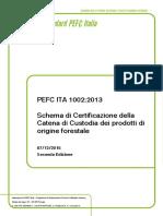 PEFC ITA 1002 2013 IT Seconda Edizione