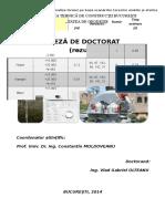 Teza de Doctorat Rezumat 1