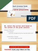 10 Basic Grammar Rules - Copy