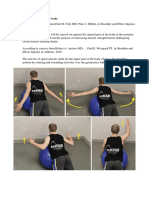 Open Kinetic Chain for Upper Body