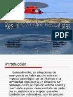 Resiliencia rescatistas