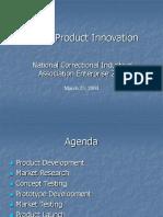 New Product Innovation (NCIA)