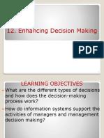 12219 BIS Ppt 12 Decision Making