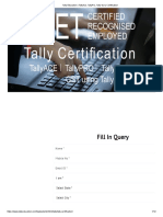 Tally Education _ TallyAce, TallyPro, Tally Guru Certification