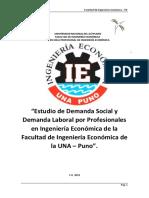 Empleo y Desempleo de Los Egresados de La Facultad de Ingeniería Económica-final2019b