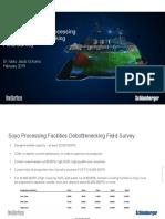 Somoil - Soyo Processing Facilities Debottlenecking - Final