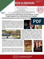 Poster - Apresentação 5 Graduacao USP - Beçak, Bruna, Andre