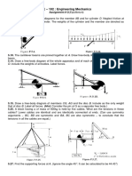 Engg. mechanics Assignment (Equilibrium)