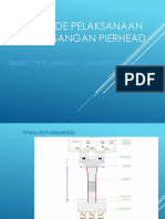 Metode Erection Pierhead - Tandem Crane
