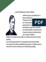 Filipino Assignment 1