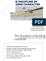 BE_The Discipline of Building Character_group 6,SEC-B