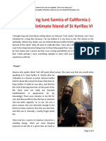 Remembering Tunt Samira of California - The Intimate Friend of Pope Kyrillos