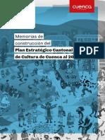 Memorias Plan Cultura 2030
