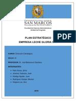 Plan estrategico Leche Gloria sa 2018 simulacion.