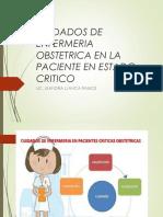 Cuidados Obstetricos en La Paciente en Estado Critico (1)