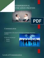 OB Interpersonal Communication