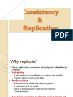 Consistency and replication in distributed system