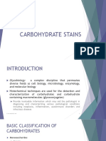 16. Carbohydrates Stains