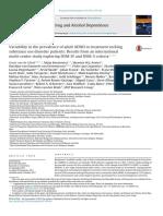 Prevalencia del TDAH en ADULTOS en EEUU