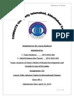 International Finance-tania and Abdul Rehman Assignment-PDF to Print