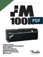 Fender Fm 100h