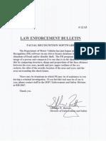 December 26, 2012 Law Enforcement Bulletin