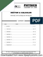 Vectors & Calculus.pdf
