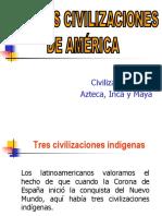 3 Grandes Civilizaciones de América