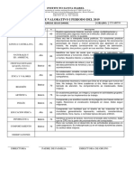 Boletines 4to Grado 2019 i Periodo (1)