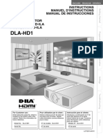 Jvc- Dla-hd1 - User Manual