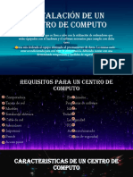 Instalación de Un Centro de Computo Finalizado