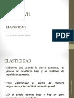 Elasticidad y Eficiencia