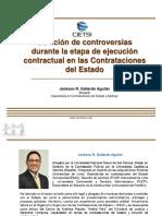 Solucion de Controversias en Ejecucion Contractual (Mayo 2019) CIETSI