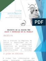 """""""Creación, Personalización y Publicación Preliminar Del Sitio Web"""