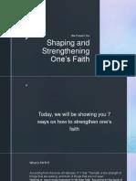 Shaping One's Faith - ESP - Copy