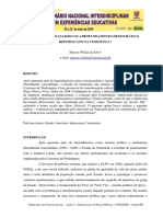 Chavismo Socialismo Ou Aprofundamento Democratico Republicano Na Venezuela