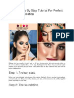 Ultimate Step By Step Tutorial For Perfect Makeup Application.pdf