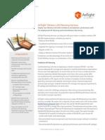 Planning Services Datasheet