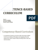 Ppt Competence-based Curriculum
