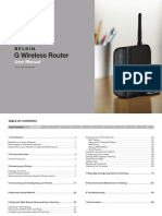 BELKING G WIRELESS ROUTER