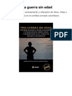 Informe Del Centro Nacional de Memoria Histórica-UNA GUERRA SIN EDAD
