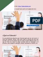 Interfaz y Uso Educativo EDMODO