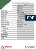 Product Comparison - AEC Collection