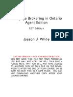 Mortgage Brokering in Ontario ONLINE VERSION 2019