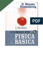 Curso de Física Básica - Vol. 1 Capa - 4ed - Moysés Nussenzveig