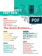 Forecastle Lineup Sunday 2019